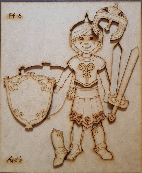 Puzzle - armor of god (girl) picture