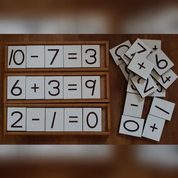 Grade r math set. picture