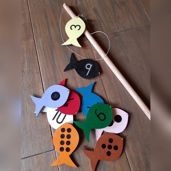 Fishing rod -numbers game (weight 160g) picture