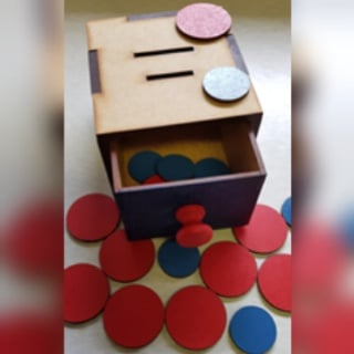 Coin box (weight 330g) picture