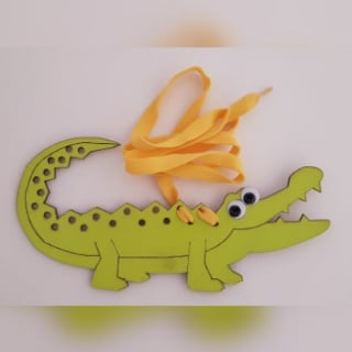 Threading crocodile (weight 64g) picture