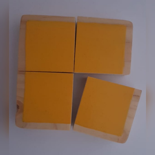 Block shape puzzles (weight 90g) picture