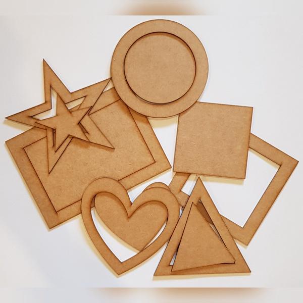 Large shape puzzles picture