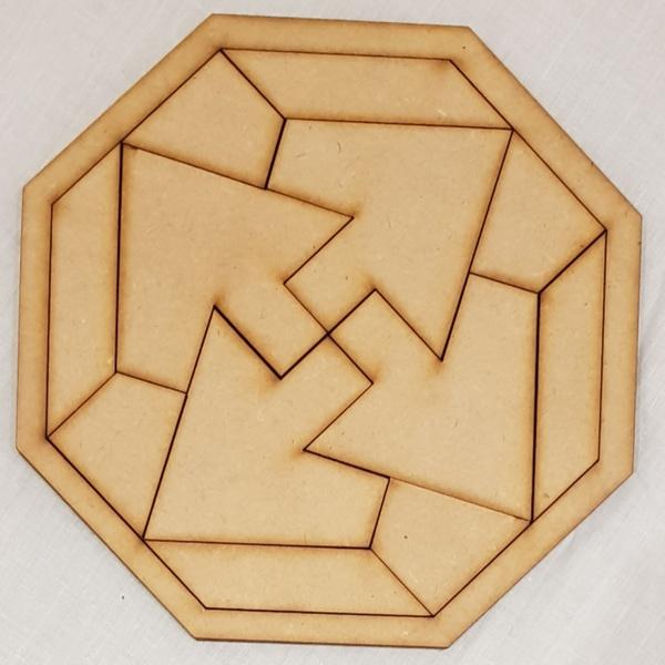 Puzzle - geomatric picture