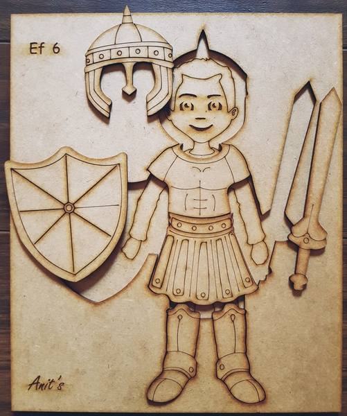 Puzzle - armor of god (boy) picture