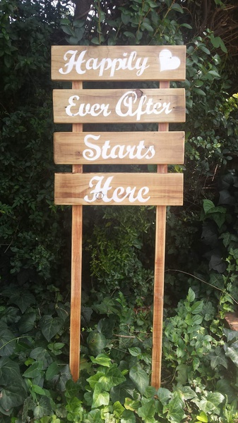 Decor special events - happily ever after picture