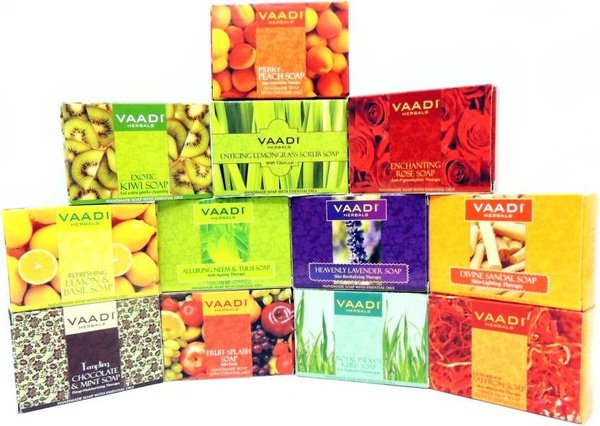 Vaadi organics soap with essential oils picture