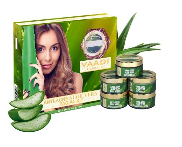 Aloe vera facial kit picture