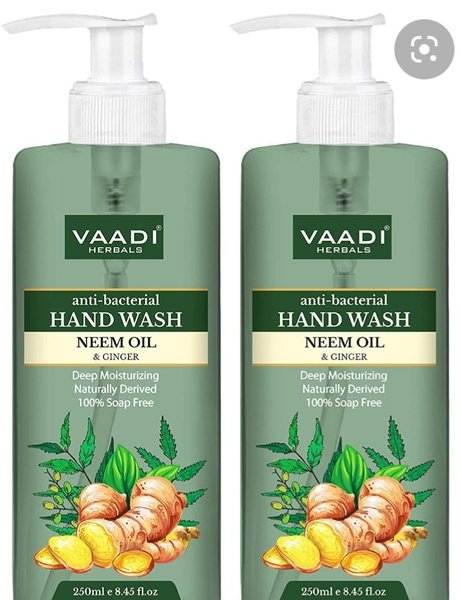 Anti bacterial neem hand wash picture