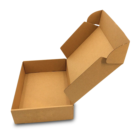 200 plain kraft mailer box picture