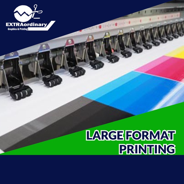 Large format printing picture