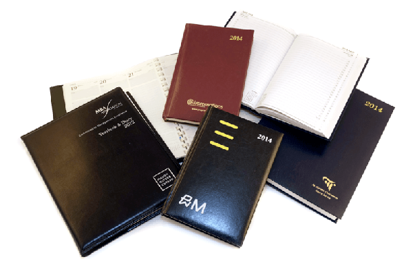 A5 branded diary picture