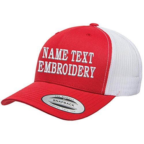 Pocket size 3d word on cap picture