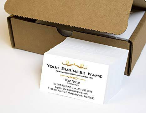 1000 business cards picture