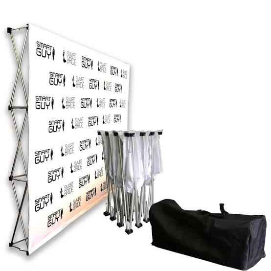 3m media wall banner/backdrop picture