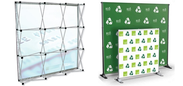 2 meters media wall/backdrop banner picture