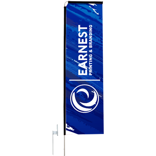 2m telescopic flag picture