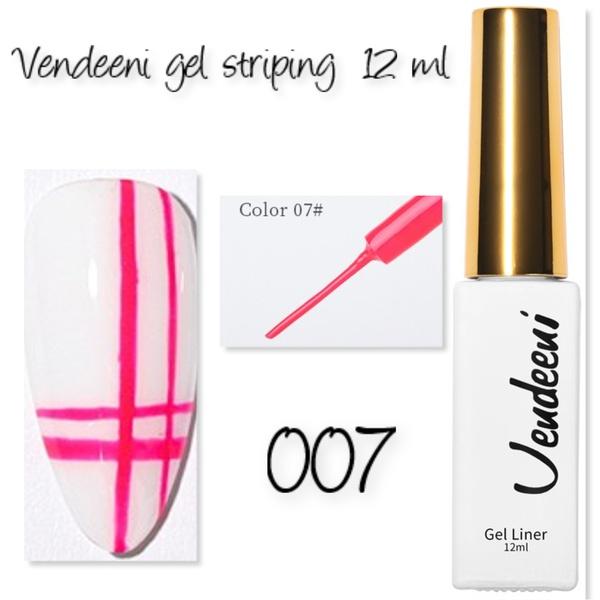 12 ml vendeeni gel striping  - 007 picture