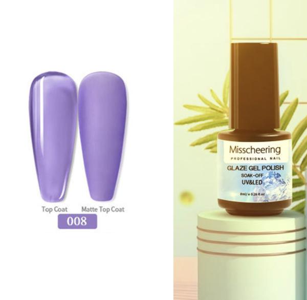 Misscheering 8 ml glaze gel polish -008 picture
