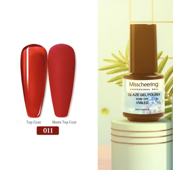 Misscheering 8 ml glaze gel polish - 011 picture