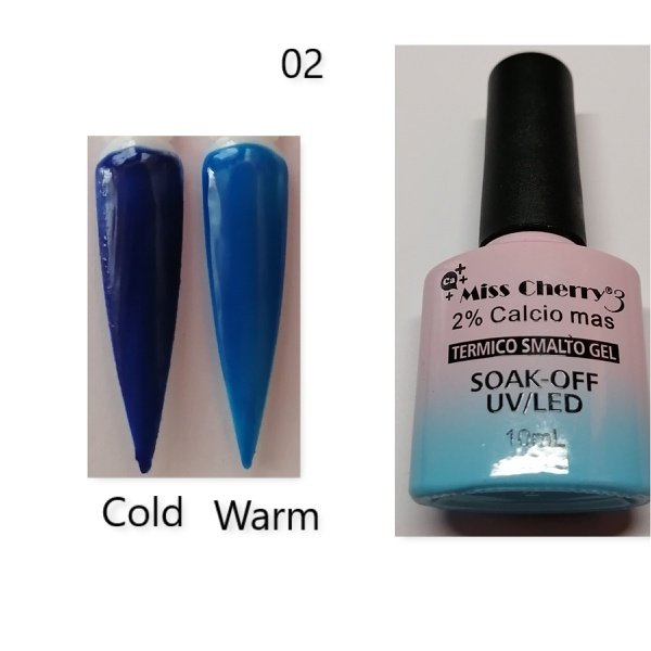 Miss cherry 10 ml color uv/led changing gel n02 picture