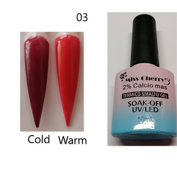 Miss cherry 10 ml color uv/led changing gel n03 picture