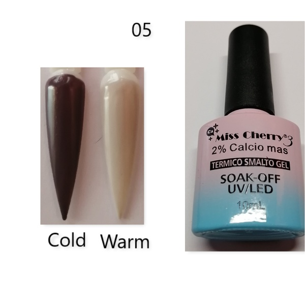 Miss cherry 10 ml color uv/led changing gel n05 picture