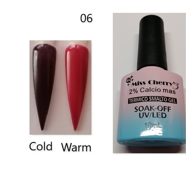 Miss cherry 10 ml color uv/led changing gel n06 picture