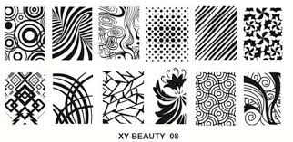Stamping plate xy-beauty n0 08 picture