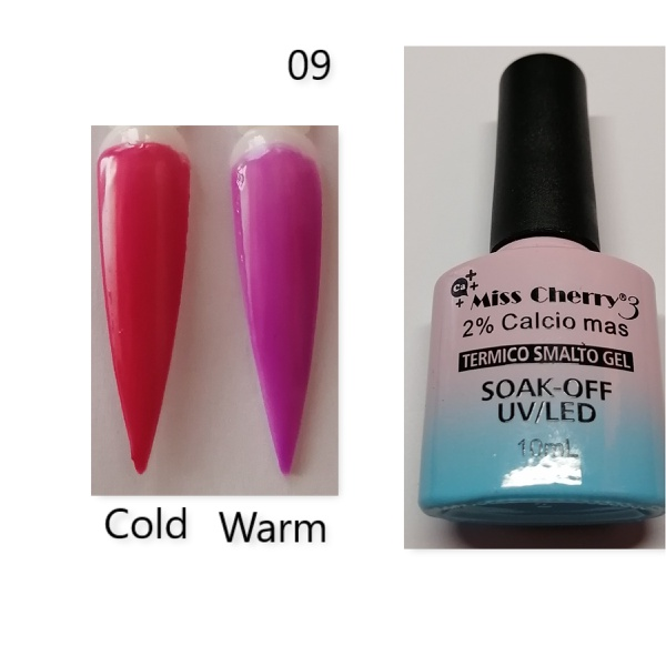 Miss cherry 10 ml color uv/led changing gel n09 picture