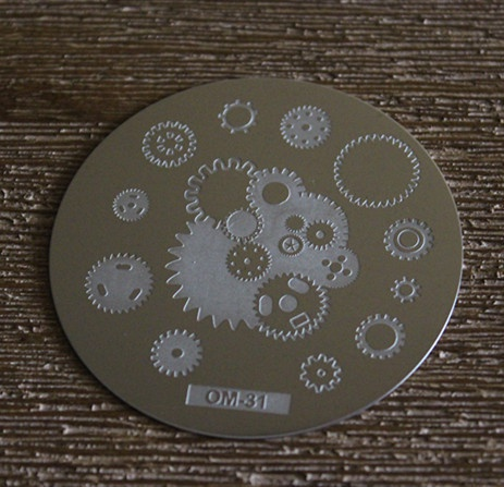 Round stamping plates om31 picture