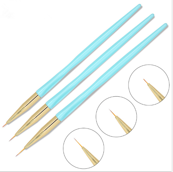 3 pc s striping brush blue picture