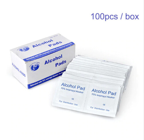100 pcs 75%alchol pads picture