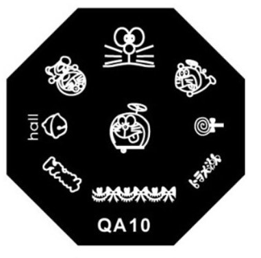 Stamping image plate qa10 picture