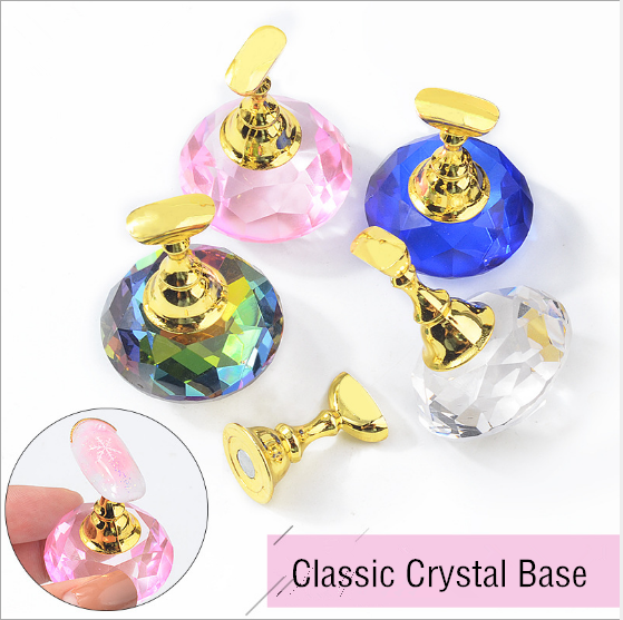 Symphony crystal gem nail holder picture
