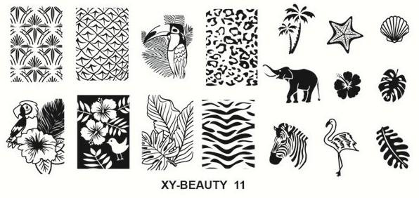 Stamping image plate xy beauty 11 picture