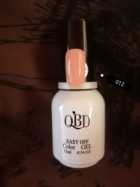15 ml qbd uv/led nail polish gel - 012 picture