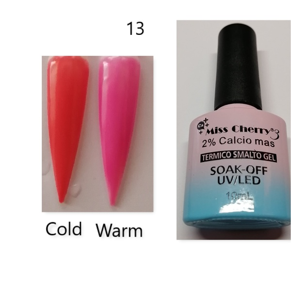 Miss cherry 10 ml color uv/led changing gel n13 picture