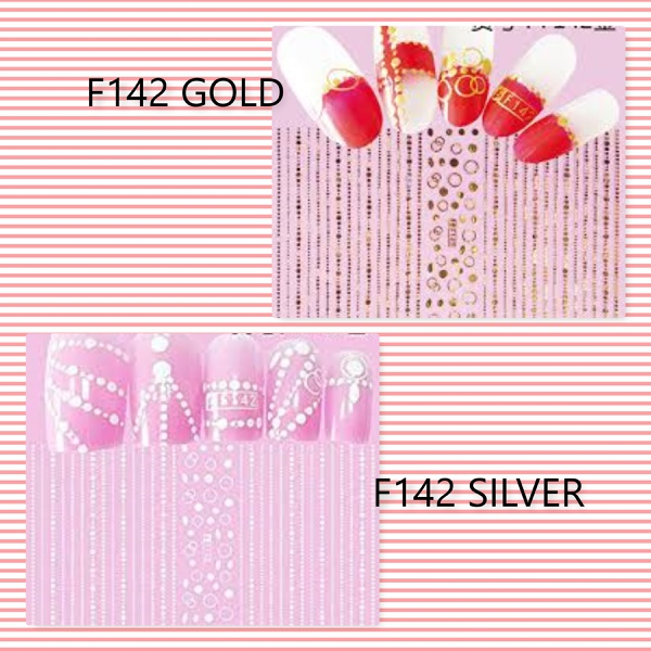 Nail art stickers-f picture