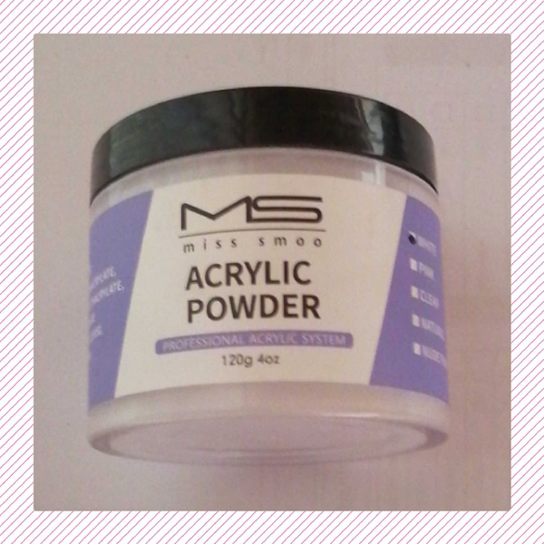 120 g ms acrylic powder - white picture