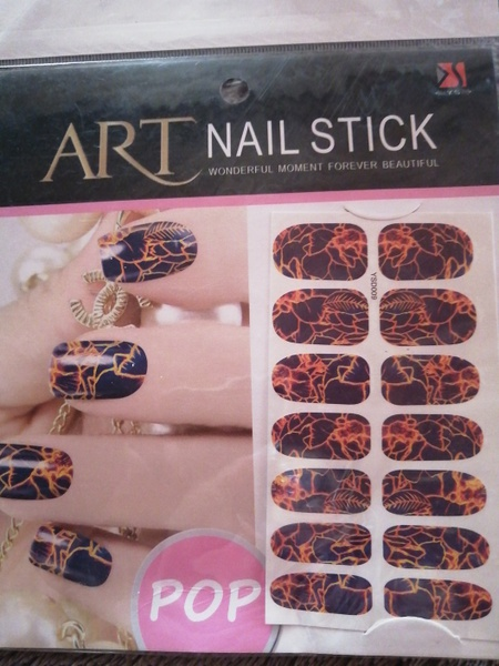 Full nail water transfer sticker picture