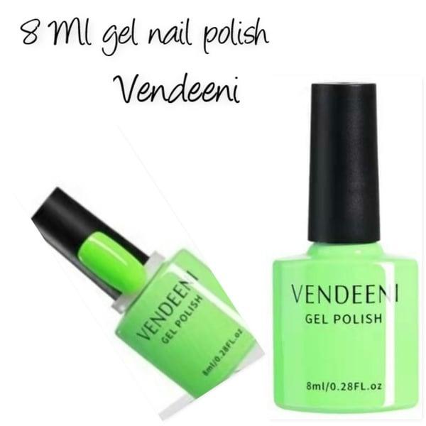 8 ml vendeeni uv/led gel nail polish no 1 picture