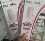 Full nail tips 100 pcs clear picture