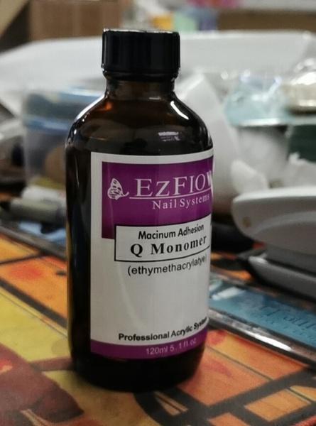 Monomer 120ml glass bottle picture