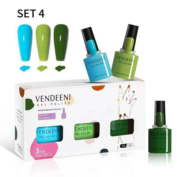 Vendeeni 3pcs/ set 7.5ml gel polish set 4 picture