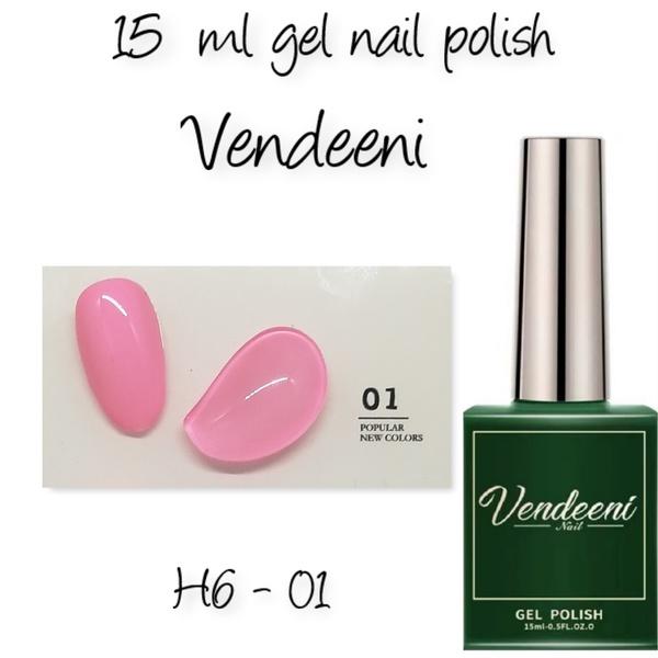 15 ml vendeeni uv led gel nail polish h6-01 picture