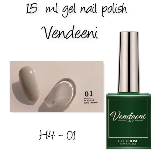 15 ml vendeeni uv led gel nail polish h4-01 picture