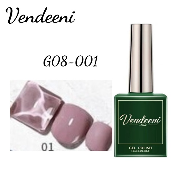 15 ml vendeeni uv led gel nail polish g-08-no 1 picture