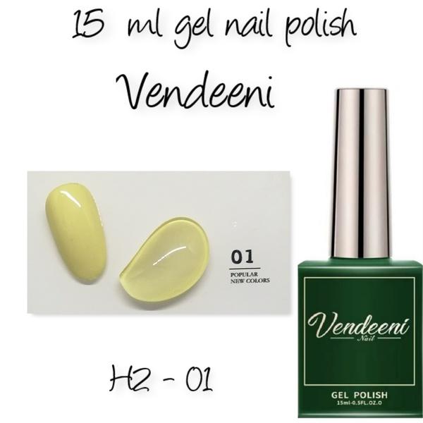 15 ml vendeeni uv led gel nail polish h2-01 picture