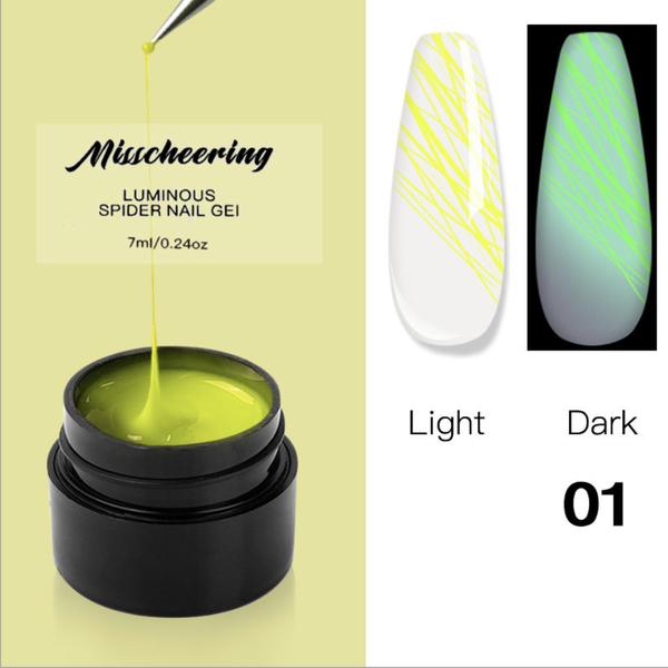 Luminous spider gel 7ml no 1 picture